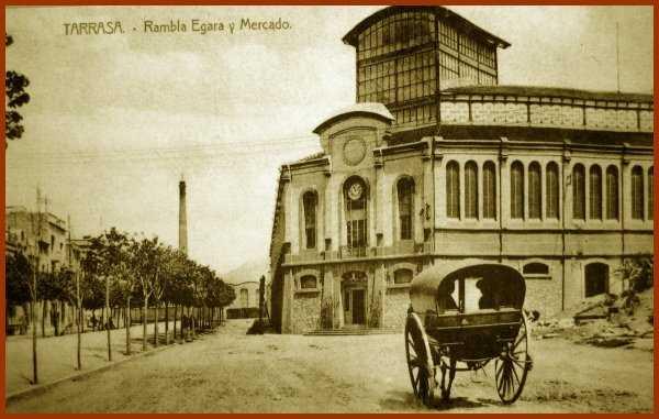 Historia de Terrassa, Mercat de la Independencia