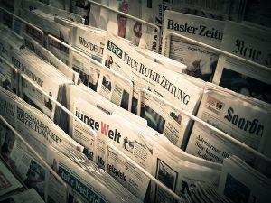 Periodistas de Terrassa. Prensa en el kiosko